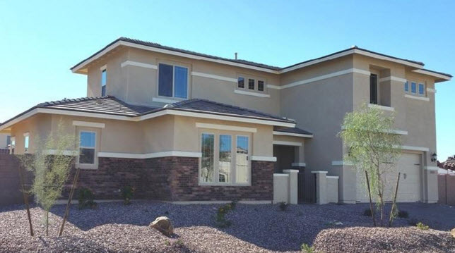 New Homes In Gilbert Az With  Car Garage